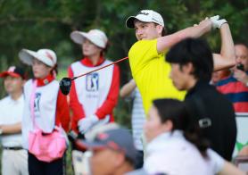 Beijing Open, Round 3, 8 under 64.